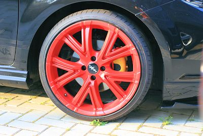 Plastidipped wheel